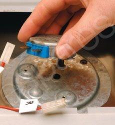 Drehteller einer Mikrowelle austauschen