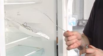 Kühlschrankthermostat : Kühlschrankthermostat selbst auch noch justierbar nicht mit
