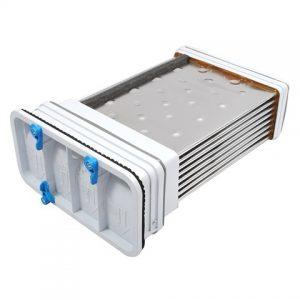Flusenbildung im Kondensator/Entlüftung (gilt nur für Kondensator-Trockner)